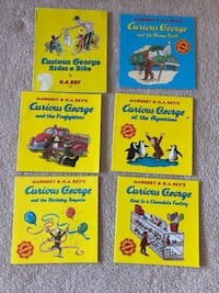 Curious George children's books. North Potomac, 20878