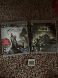 minecraft for new 3DS and fallout 3 for ps3 (: Lethbridge, T1J 4V2