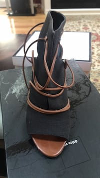black and brown leather handbag Vienna, 22182