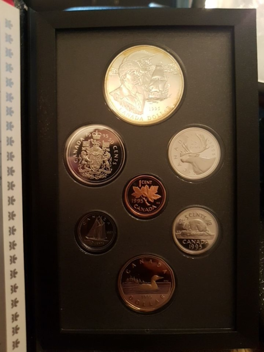1995 proof set from RCM