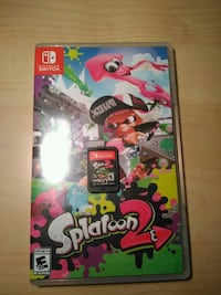 Splatoon 2 Cartridge and case Silver Spring, 20905