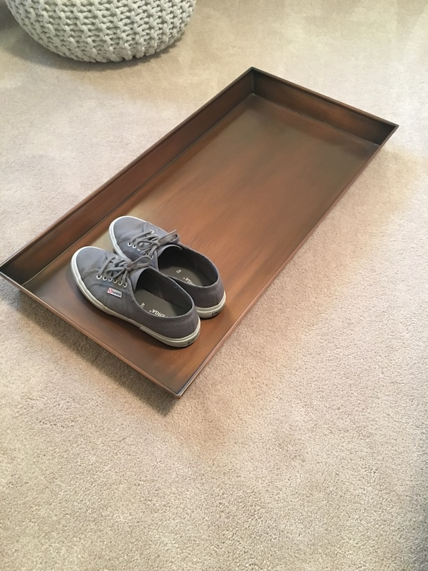 Smith and Hawken shoe tray holder