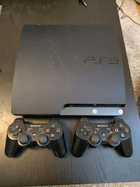 PS3 with 2 controllers Burnaby, V3J 1G9