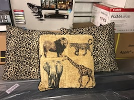 Animal print pillows—3