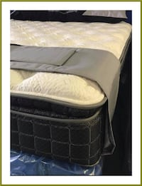 King Box Foundation & Mattress - NEW - In Plastic - Bealeton