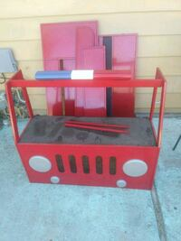 Fire truck toddler metal bed  Nampa, 83651