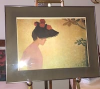 """Profile of a Young Woman"",  by  A Maillol TORONTO"