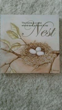 Bird nest quote canvas Kitchener, N2K 4J7