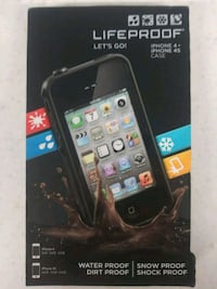 Iphone 4 / 4s Lifeproof case and screen protector Stuart, 34994