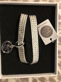 Marlins Swarovski Leather Bracelet. Official MLB Gear!  Sierra Vista, 85635