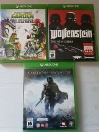 Xbox one games $10 each Edmonton, T5Y 2P1