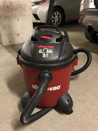 shop vac full size with hose and vacuum