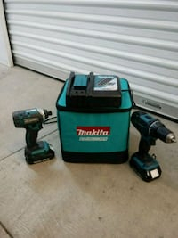 black and blue Makita cordless power drill Stockton, 95210