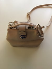 Cream Purse w/ Long Strap & Buckle West Linn, 97068