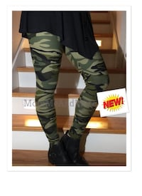 New Camo Leggings from MomMeAndMore dot com  New York