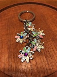 Pretty Coach  colorful flower key chain Gainesville, 20155