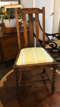 Antique English Oak Barley Twist Chair New Orleans, 70113