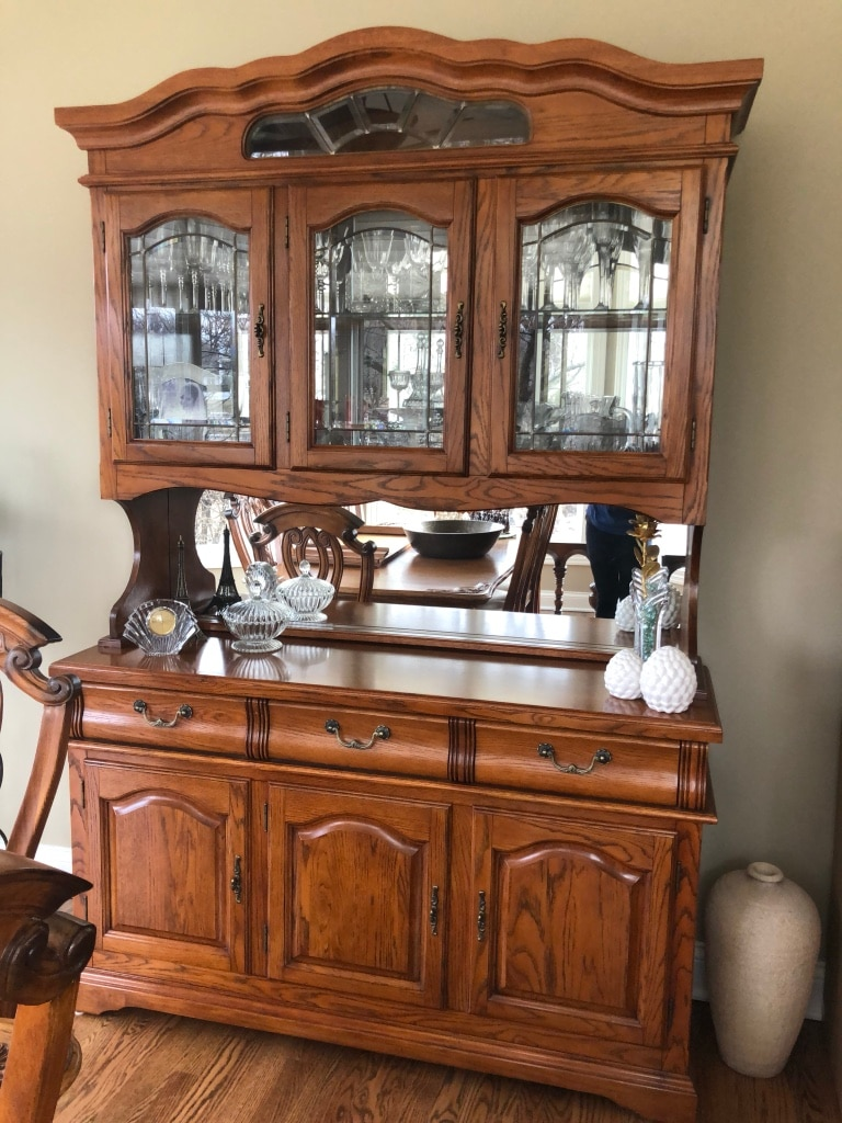 Make Offer Dining Room Set China Cabinet And Large Table