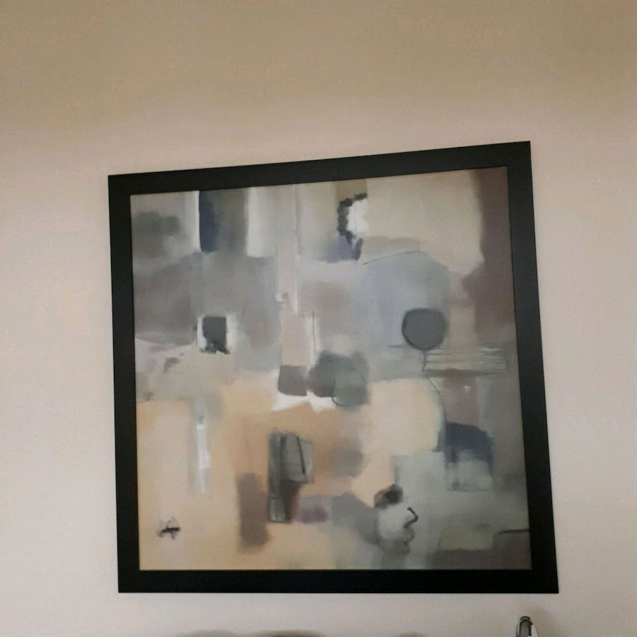 """Abstract canvas wall art  approx 39"""" x 39"""""""