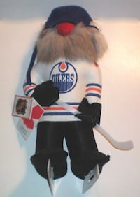 Vintage Rare Fufel Doll Wayne Gretzky Hockey Player London