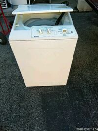 white top-load clothes washer 56 km
