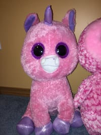 pink and purple bear plush toy Edmonton, T6V 1S9