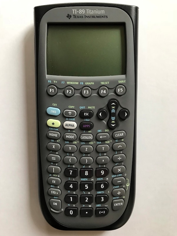 Folkekære Used Texas Instruments ti-89 Titanium Graphing Calculator for sale VH-19