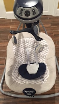 Baby's white and black graco cradle and swing Watertown, 02472
