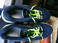 pair of blue running shoes Rocky Mount