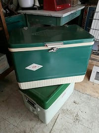 green Coleman chest cooler diamond edition  Alsip, 60803