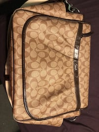 Authentic Coach Diaper Bag w/Changing Pad