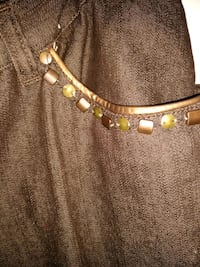 silver-colored necklace with clear gemstones Newport News, 23601