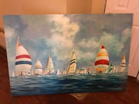 """""""Clear Sailing""""painting . Clinton, 20735"""