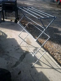 Clothes drying rack.