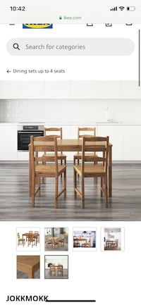 IKEA Dining Table (w/ 2 chairs) Rockville, 20850