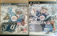 Madden 13 & 17 for PS3 Conway, 29526