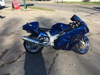 Blue and black sports bike READ INFO