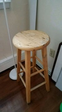 Wooden Stool Edison
