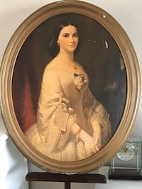 Vintage Lithograph of the beautiful Jenny Lind 'Southern Belle'