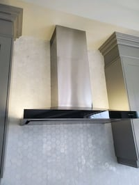 Jenn Air Stainless Steel Wall Hood Fan
