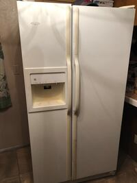white side-by-side refrigerator with dispenser Las Vegas, 89108
