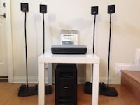 Bose Lifestyle 18 Black Series III with Bose Floor Stand Cerritos