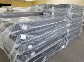 New Mattresses in all sizes Half Priced on display come try before you buy!!!