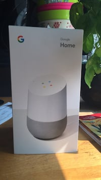 Google Home  device .   Kamloops, V2B 5M5