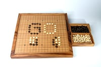 Traditional Mind Game Go! (Crafted from High Quality Wood) Cambridge, N1R 7B6