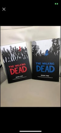 Walking Dead brand new hard cover. Animated books  #1 / 2 ,$12 each / 2 for $20. (Gift  condition) Port Moody, V3H 4C6