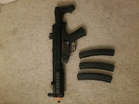 Airsoft mp5 with orange tip.  Silver Spring, 20906