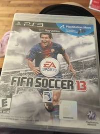 Sony PS3 Fifa Soccer 13 game case Lacey, 98503