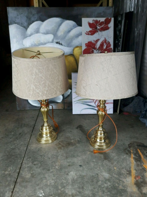 Set of two Table Lamps Desk Lamps dacbe89b-6b57-4183-a9cb-7df3591fb415