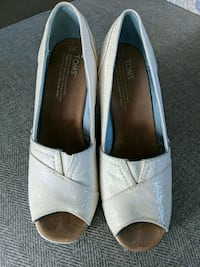 Toms wedding wedges Chicago, 60610